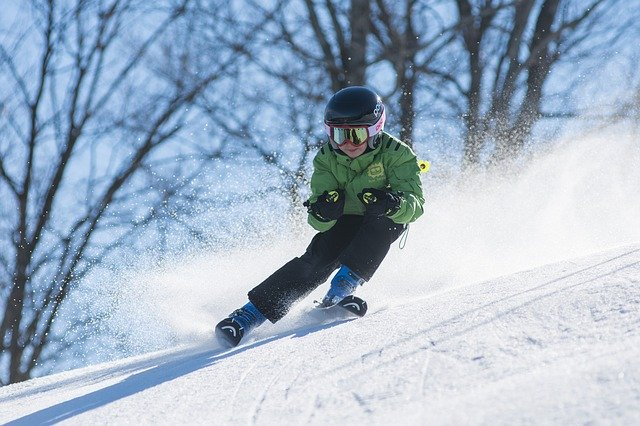 get better at anything, picture of boy skiing