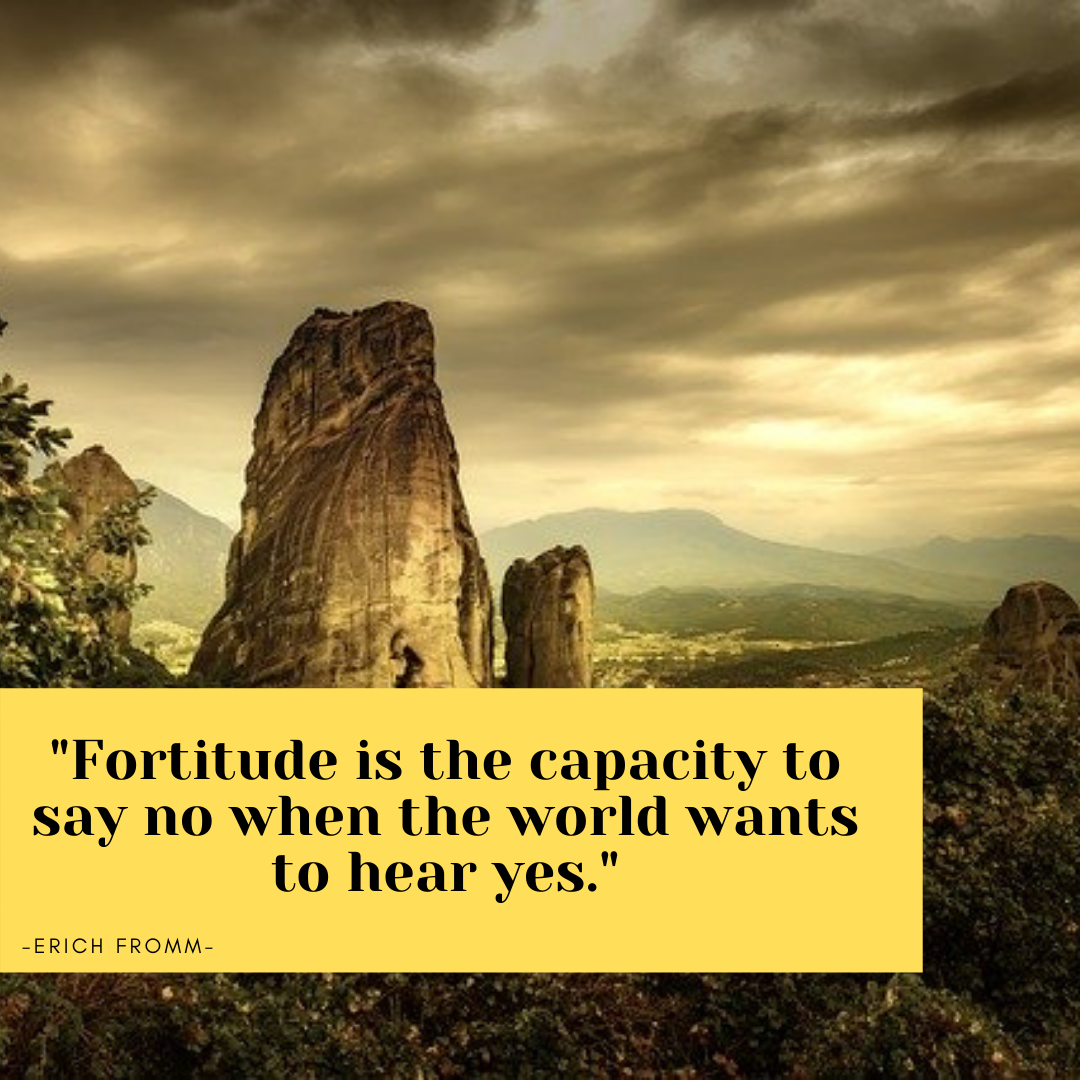 patience and fortitude quotes